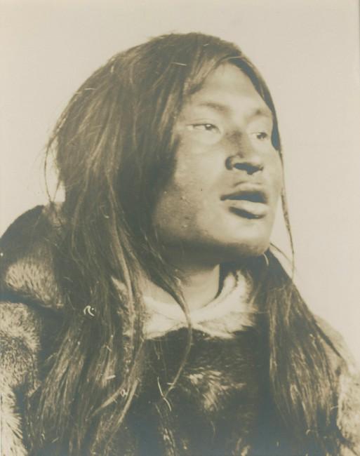 Lachlan T. Burwash, </span><span><em>Portrait of man wearing fur</em>, </span><span>c.1925 From the collection of Neil David MacDonald