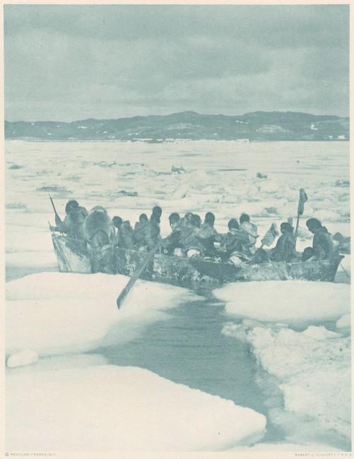Robert J. Flaherty, </span><span><em>Eskimo Omiak in the Spring</em>, </span><span>c. 1925 From the collection of Neil David MacDonald