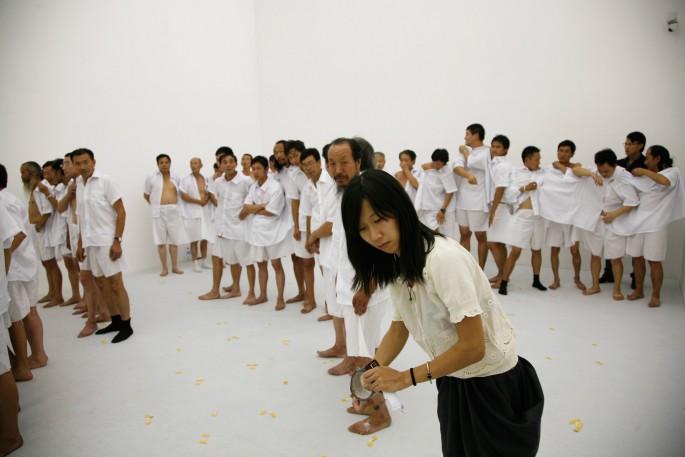 Ma Qiusha, </span><span><em>Us</em>, </span><span>video still, 2010