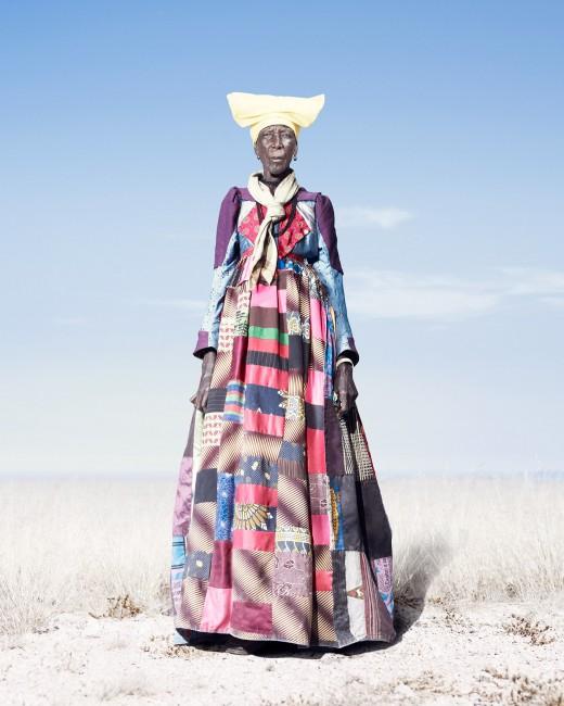 Jim Naughten, </span><span><em>Herero Woman in Patchwork Dress</em>, </span><span>2012