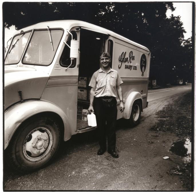 Neil Newton, </span><span><em>The Milkman</em>, </span><span>1973