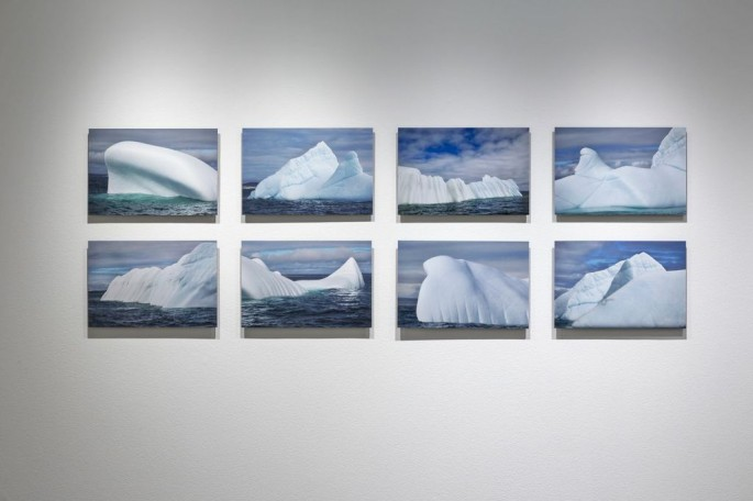 Installation view, </span><span><em>Arctic Exposure: Photographs of Canada's North</em>, </span><span>Jimmy Manning Photo © Toni Hafkenscheid