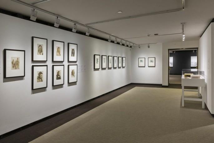 Installation view, </span><span><em>Arctic Exposure: Photographs of Canada's North</em>, </span><span>Lachlan T. Burwash, Robert J. Flaherty Photo © Toni Hafkenscheid