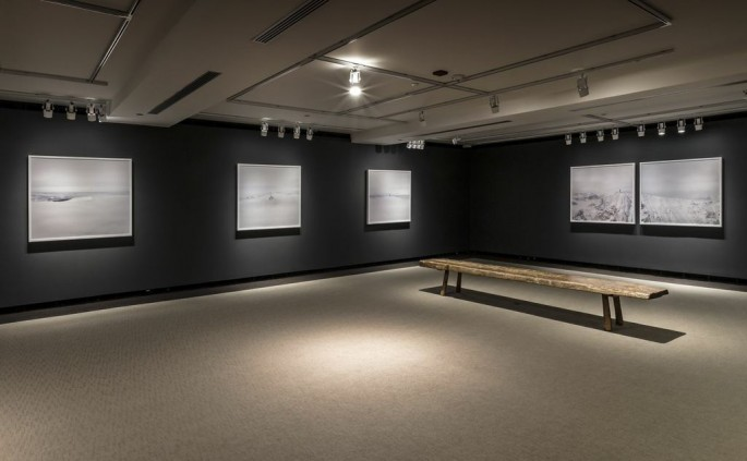 Installation view, </span><span><em>Arctic Exposure: Photographs of Canada's North</em>, </span><span>Donovan Wylie Photo © Toni Hafkenscheid