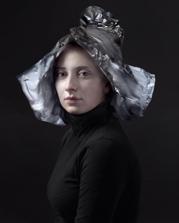 Hendrik Kerstens, </span><span><em>Aluminum Foil</em>, </span><span>March 2012 © Hendrik Kerstens, Courtesy of Hendrik Kerstens and Danziger Gallery, New York