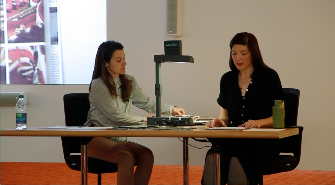 &lt;em&gt;The Bird and the Cup&lt;/em&gt;. Lecture-performance by Annie MacDonell in collaboration with Maïder Fortuné, </span><span>