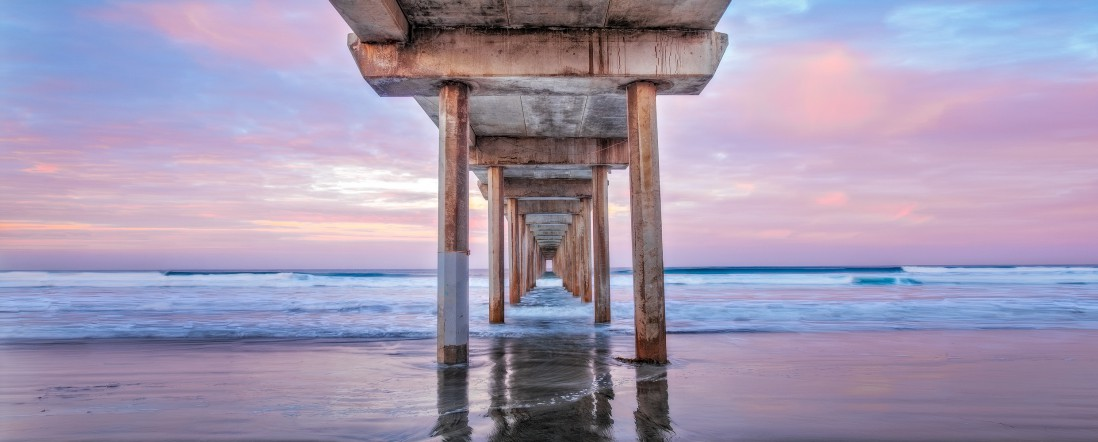 Mark Brodkin, </span><span><em>Under the Pier</em>, </span><span>2012