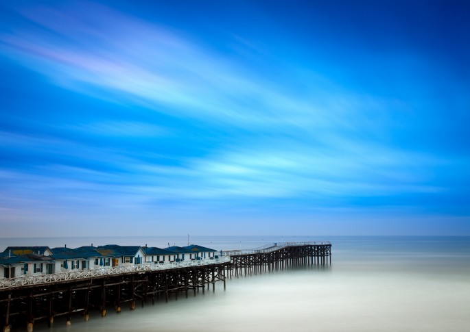 Mark Brodkin, </span><span><em>Blue Pier</em>, </span><span>2012