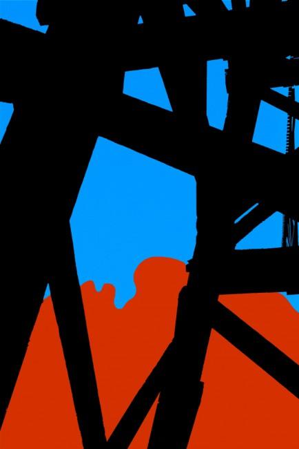 L. E. Glazer, </span><span><em>Paisley Deconstructed VIII</em>, </span><span>2014
