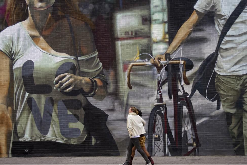 Jude Marion, </span><span><em>Strolling</em>, </span><span>2011