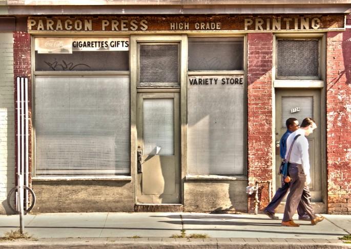 Moe Laverty, </span><span><em>Variety Store-Paragon Press</em>, </span><span>2014