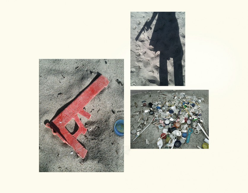 Claudette Abrams, </span><span><em>Glock</em>, </span><span>2014