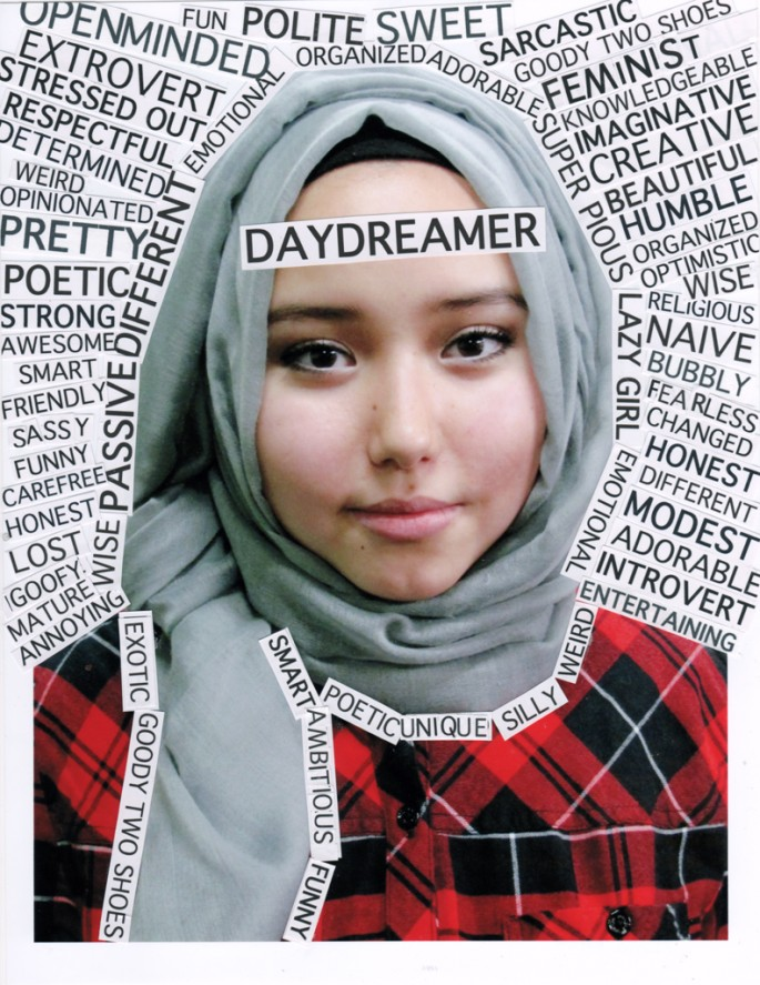 Portrait Words, </span><span><em>Asma Karimi (Truth &amp;amp; Dare Project)</em>, </span><span>2014