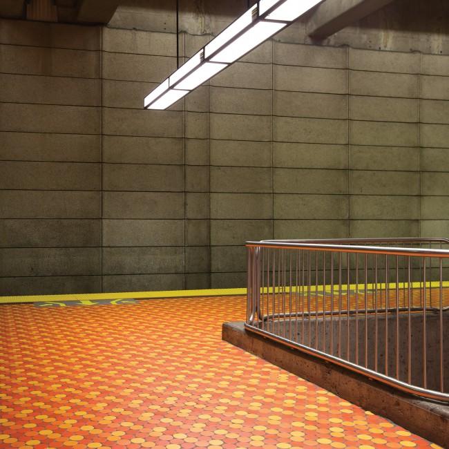 Chris Shepherd, </span><span><em>Lionel-Groulx Station Platform Montreal</em>, </span><span>2014 Courtesy of Bau-Xi Photo