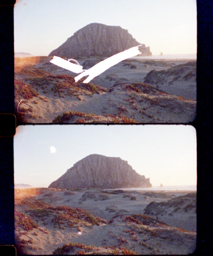 Sylvain Chaussée, </span><span><em>Zephyr rock timing test, 16mm, August 2012</em>, </span><span>2014