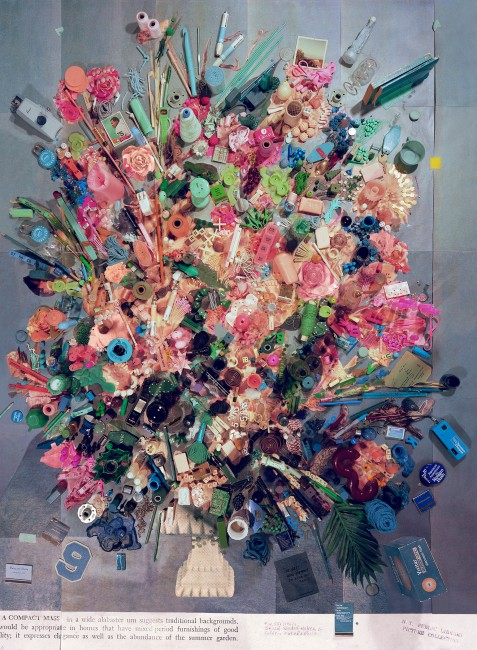 Sara Cwynar, </span><span><em>Contemporary Floral Arrangement 5 (A Compact Mass)</em>, </span><span>2014 Courtesy of the artist and Cooper Cole Gallery