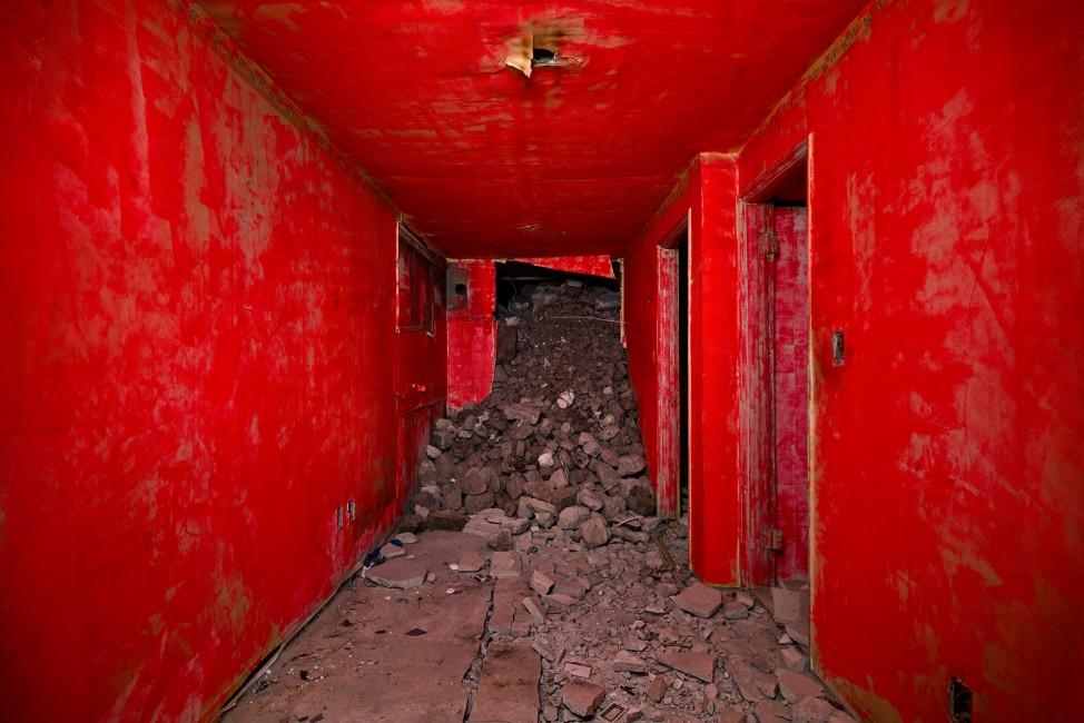 Jihyun Jung, </span><span><em>Demolition Site 01 Inside</em>, </span><span>2013 Courtesy of the artist