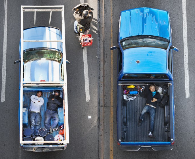 Alejandro Cartagena, </span><span><em>Carpoolers</em>, </span><span>2011 - 2012 Courtesy of the artist and Circut Gallery
