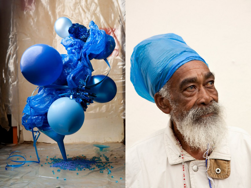 Lorenzo Vitturi, </span><span><em>Plastic Blue #1 &amp;amp; 2, from the series Dalston Anatomy</em>, </span><span>2013 Courtesy of the artist