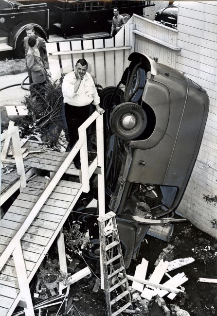 Unknown photographer, </span><span><em>Auto – ACC – S.F., Runaway Truck</em>, </span><span>September 4, 1951 Courtesy of Winter Works on Paper, Brooklyn