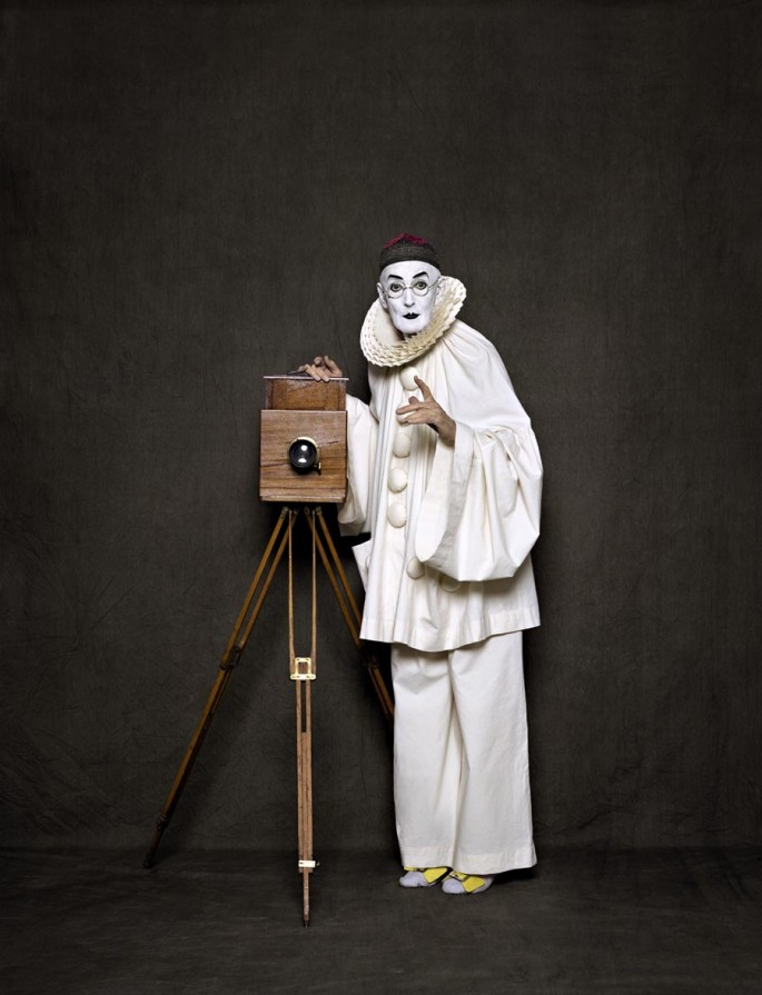 Arnaud Maggs, </span><span><em>After Nadar: Pierrot the Photographer</em>, </span><span>2012 Canada Council for the Arts Acquisitions Assistance Program, 2012.