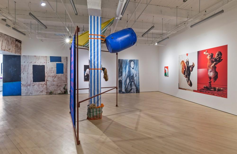 Installation view of Lorenzo Vitturi, </span><span><em>Dalston Anatomy</em>, </span><span>