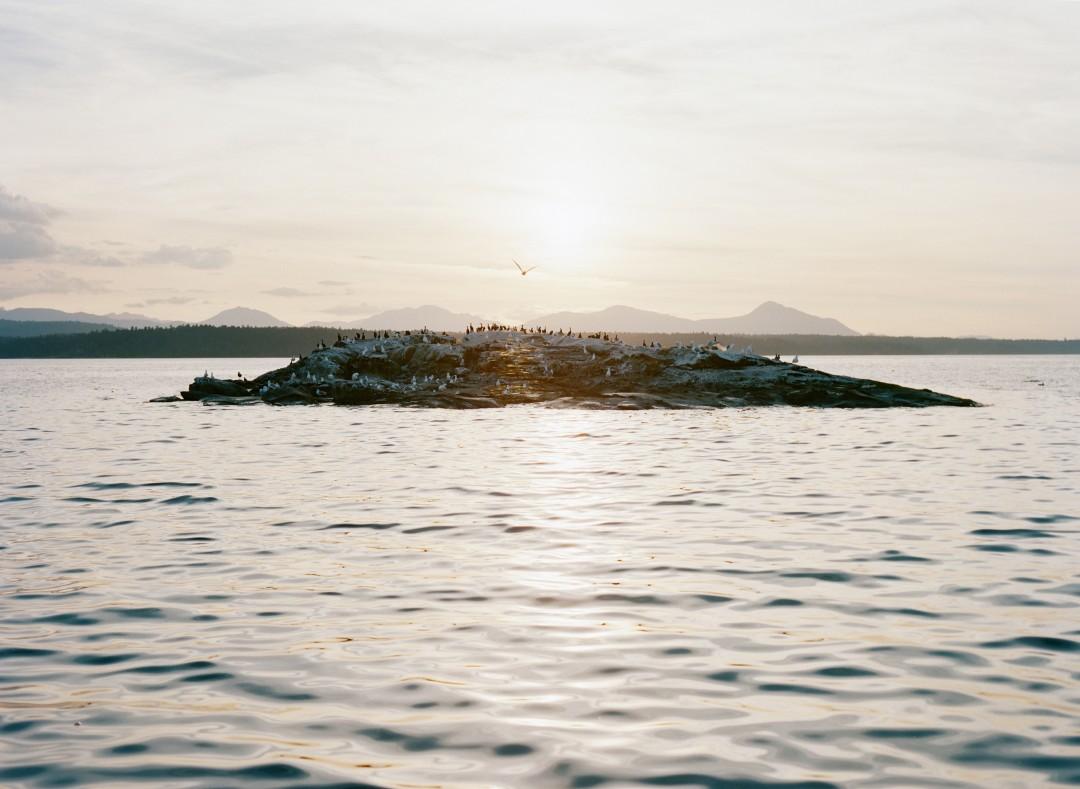 "Elise Rasmussen, Glass Island, 2014, Chromogenic Print, 48""x63"", Courtesy of the artist and ESP"