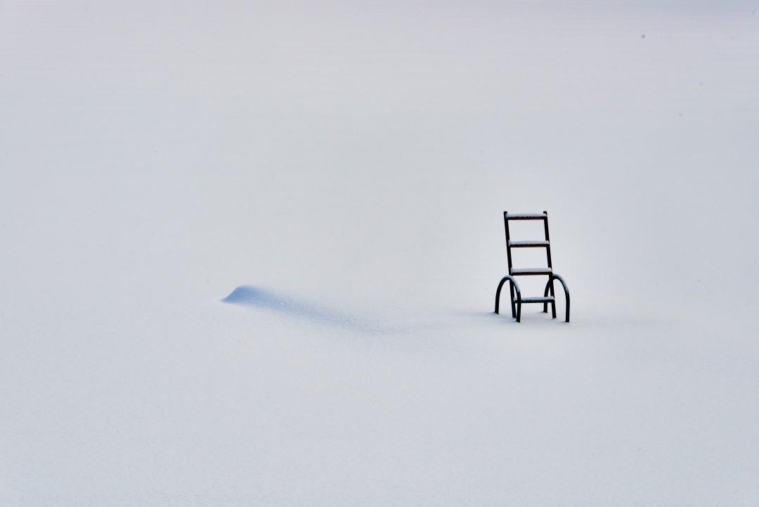 Chris Lashbrook, </span><span><em>Parry Sound Ice Ladder</em>, </span><span>2015