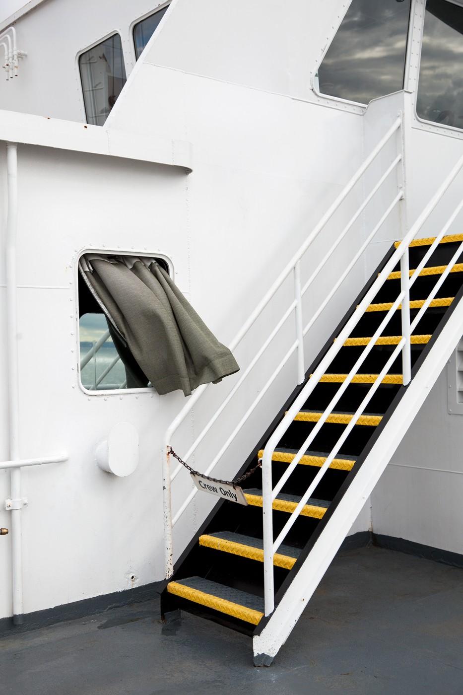 Lindsay Lauckner Gundlock, </span><span><em>Wind on the Ferry, Digital C-Print</em>, </span><span>2015
