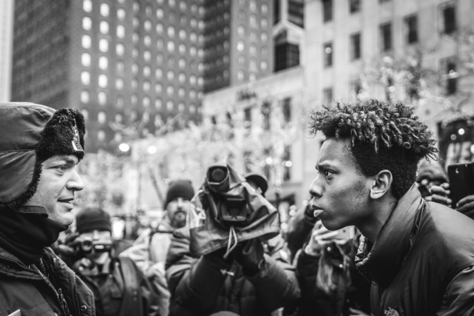 Will Mars, Chicago Protest, 2015