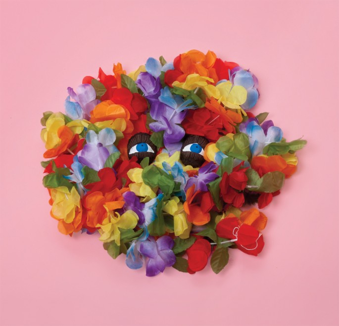 "Sebastián Benítez, </span><span><em>Floral from the series Feint</em>, </span><span>2016. Archival pigment print, 16 x 16""."