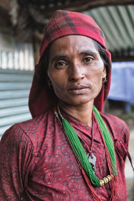 Kristin Lau, </span><span><em>Farmer Tara Kumari Thapa, Babare, Dolakha, Nepal</em>, </span><span>2015