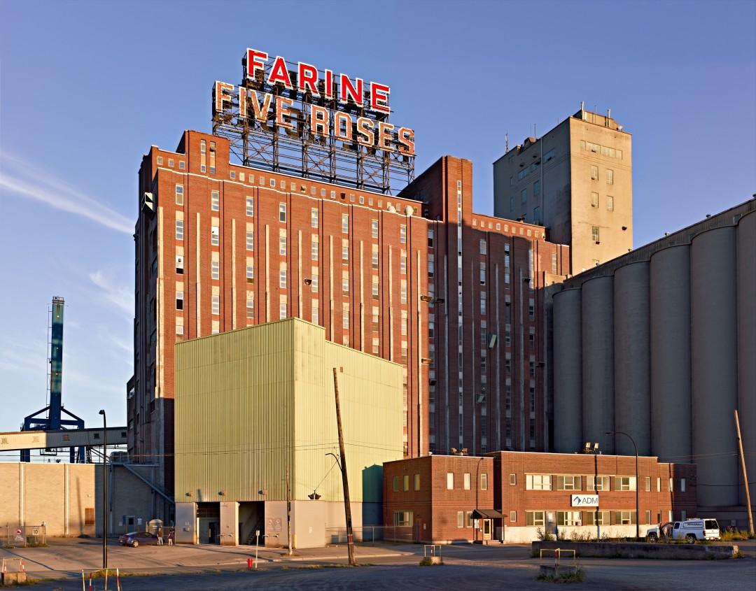 David Kaufman, </span><span><em>Ogilvie &quot;Five Roses&quot; Flour Mill, Montreal</em>, </span><span>2011