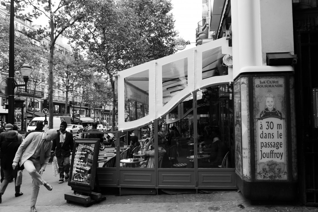 Tatiana Salnikova, Le Cafe Zephyr, Paris, 2015