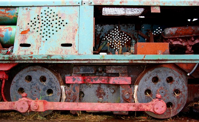 Beverley Jean Niven, </span><span><em>Glace Bay Locomotive #9</em>, </span><span>2013