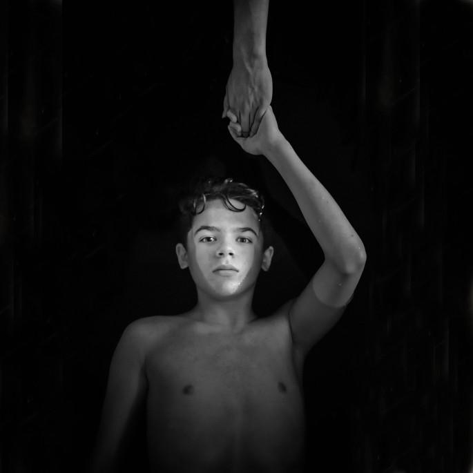 Lora Moore-Kakaletris, 2016, </span><span><em>Take my Hand</em>