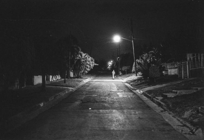 Jake Sherman, </span><span><em>Night Walk</em>, </span><span>2015