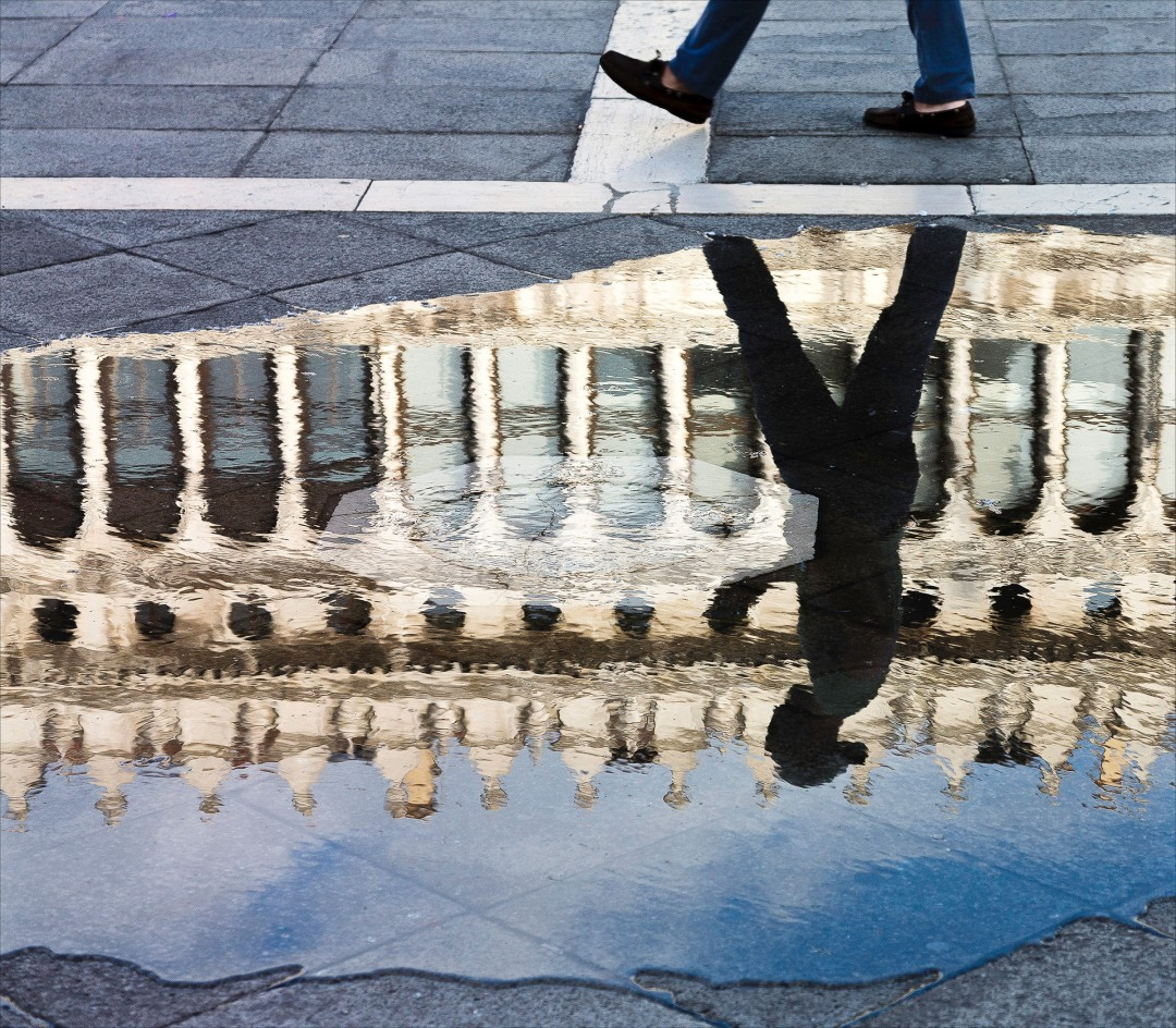 B Dass, Venice Reflection, 2015