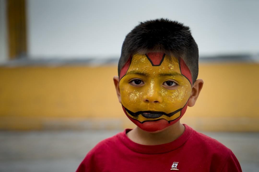 Allan Lissner, KusiROSTROS its 4th Annual Health and Education Day, San Martin de Porres, 2014