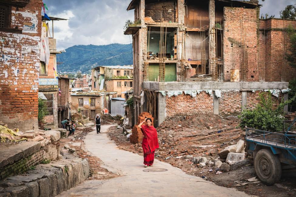 Kristin Lau, </span><span><em>Bhaktapur Durbar Square, Nepal</em>, </span><span>2015