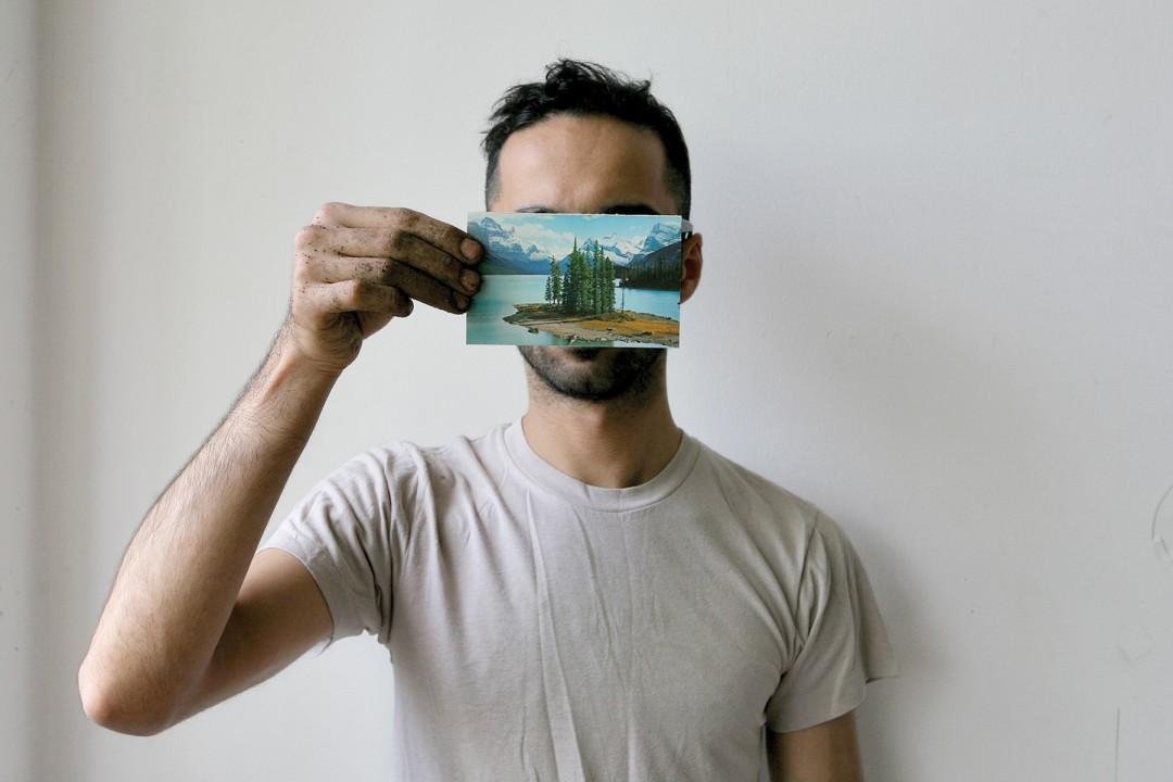 "Basil AlZeri, </span><span><em>#7 from The Postcard Project II</em>, </span><span>2015, Archival Pigment Print, 4""x6"""