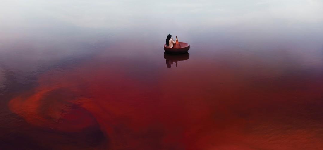 "Elena Willis, Untitled 2, 2015, Archival Pigment Print, 28""x60"""