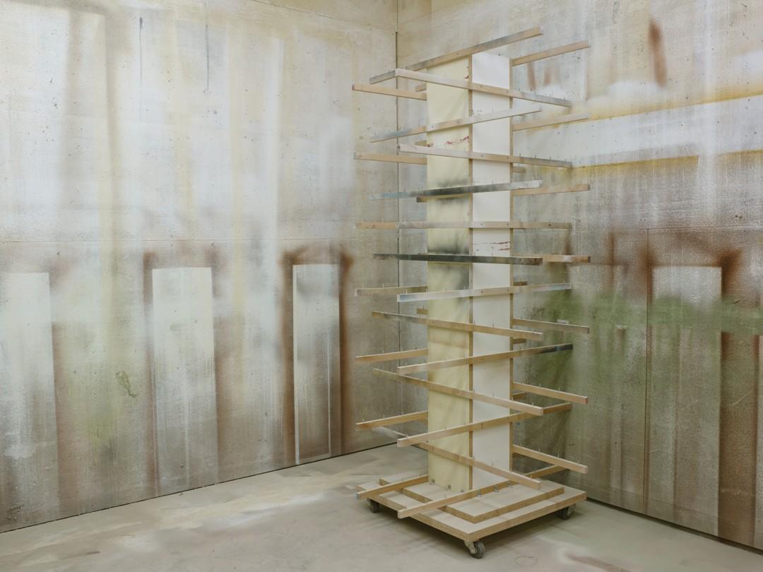 "Susana Reisman, Finishing Room (Laforest Industries), Perth-Andover, 2014. Archival pigment print, 30 x 40""."