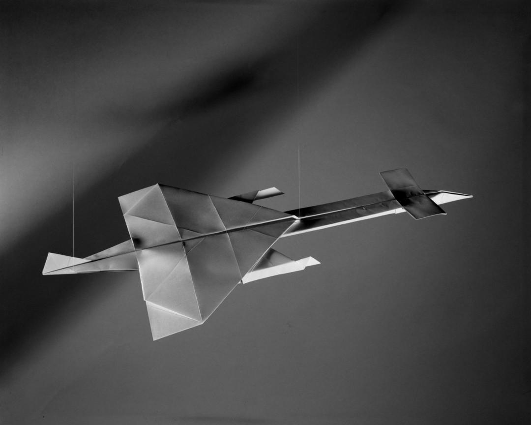 Sjoerd Knibbeler, Avro 730, from the series Paper Planes, 2014.