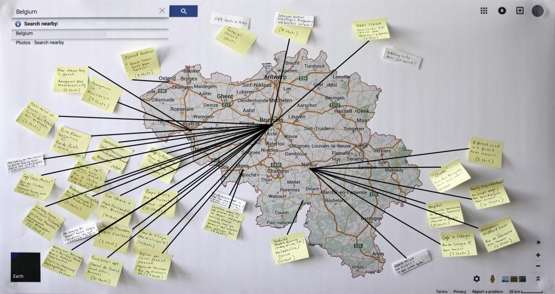Stine Marie Jacobsen, </span><span><em>Mann beißt Hund Map</em>, </span><span>2015, Archival Pigment Print, Dimensions Variable