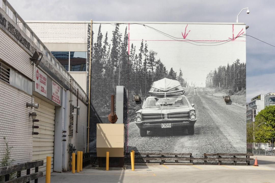 Installation view of, </span><span><em>Stopping Point</em>, </span><span>Photo: Toni Hafkenscheid