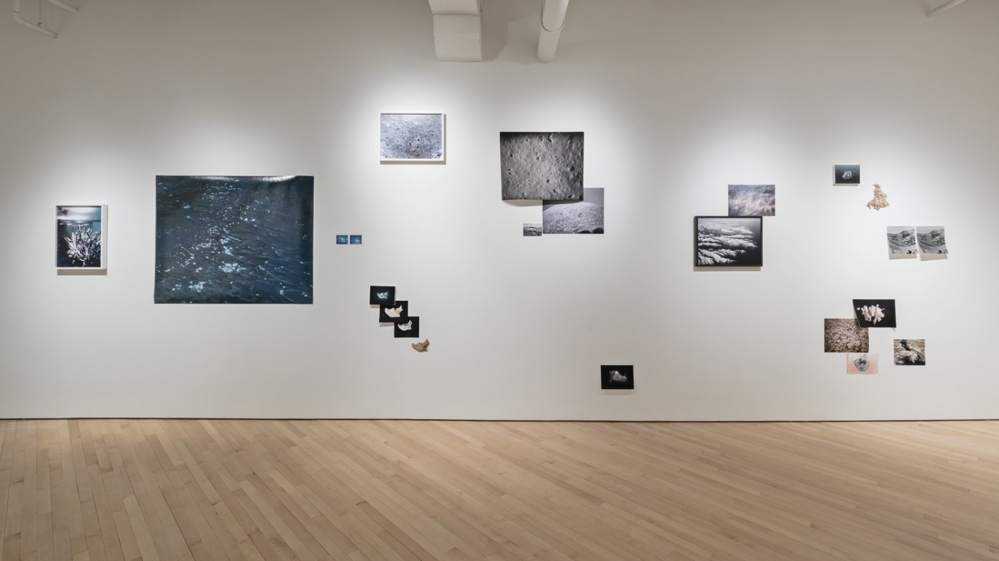 Installation view of Josée Pedneault, </span><span><em>Nævus</em>, </span><span>Photo: Toni Hafkensheid