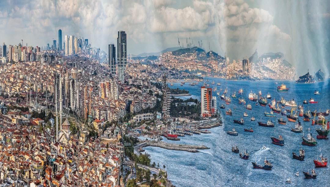 Murat Germen, Muta-morphosis - Istanbul, Ataköy #1, 2012. Chromogenic print. Courtesy of the artist.