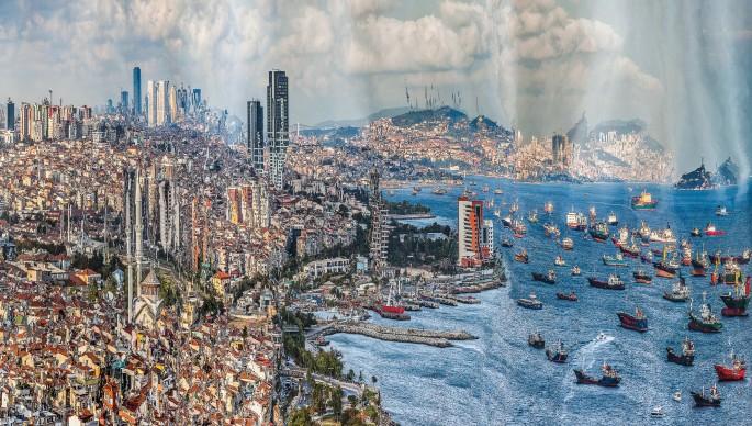 Murat Germen, </span><span><em>Muta-morphosis - Istanbul, Ataköy #1</em>, </span><span>2012. Chromogenic print. Courtesy of the artist.