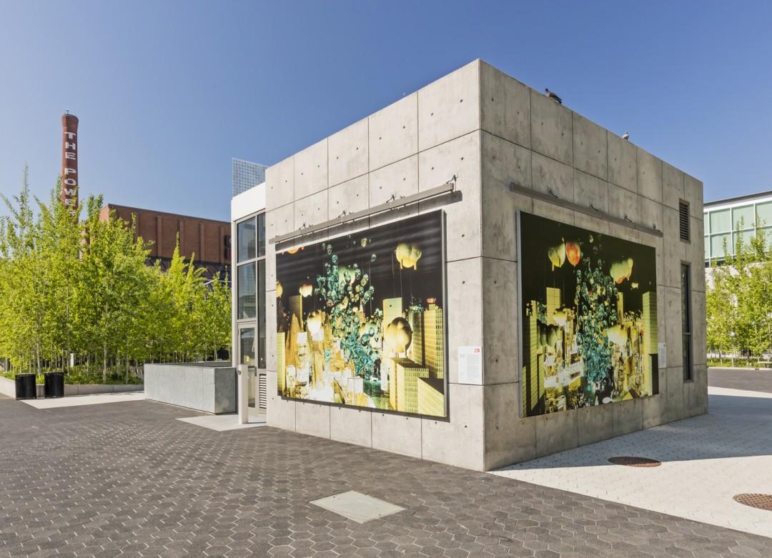 Installation view of Alex McLeod, </span><span><em>SPOTLIGHT</em>, </span><span>Photo: Toni Hafkenscheid